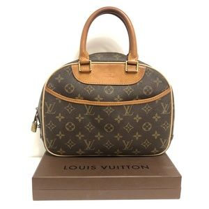 Authentic Louis Vuitton Deauville Monogram